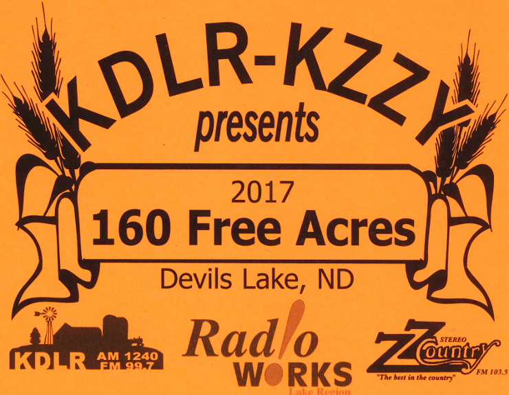 The 160 Free Acres Contest starts Monday, Jan 9th!