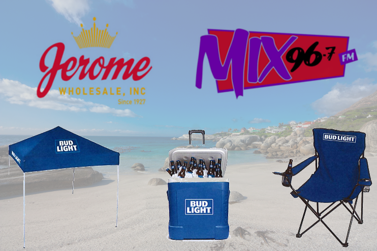 Spring into Summer with Jerome Wholesale and Mix 96.7!